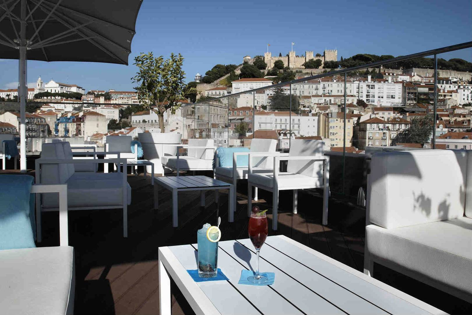 Rooftop Bars In Lisbon Cocktail Bars With A View Cn Traveller