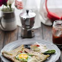 Buckwheat galettes from France