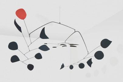 'Rouge Triomphant' by Alexander Calder