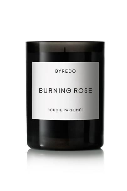 Byredo Burning Rose candle, from £23