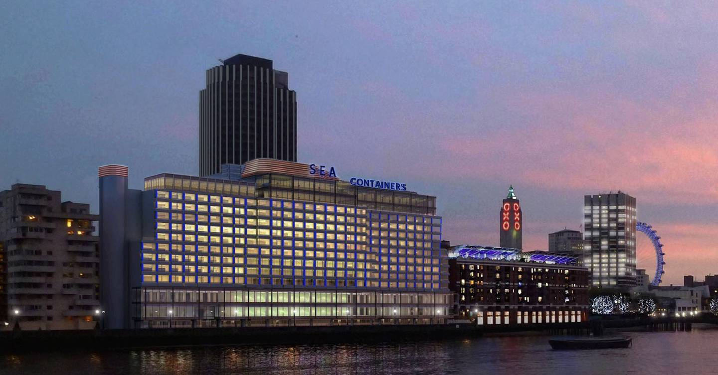 Mondrian London At Sea Containers Cn Traveller