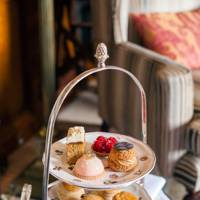 The spa and afternoon-tea vouchers