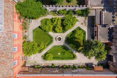 THE GARDEN OF MUSEO PIETRO CANONICA