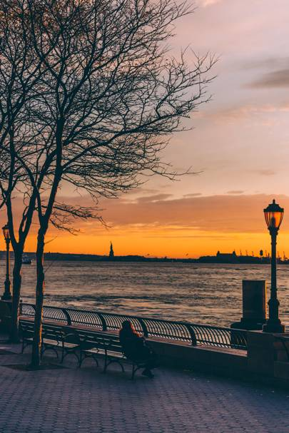 20. Battery Park City Esplanade