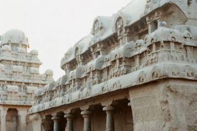 Carvings of the Ratha shrines