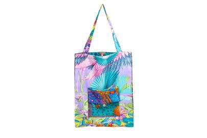 12. Hermès beach tote