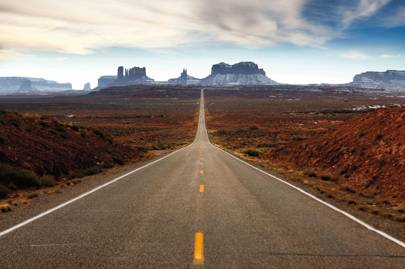 The road to Taos