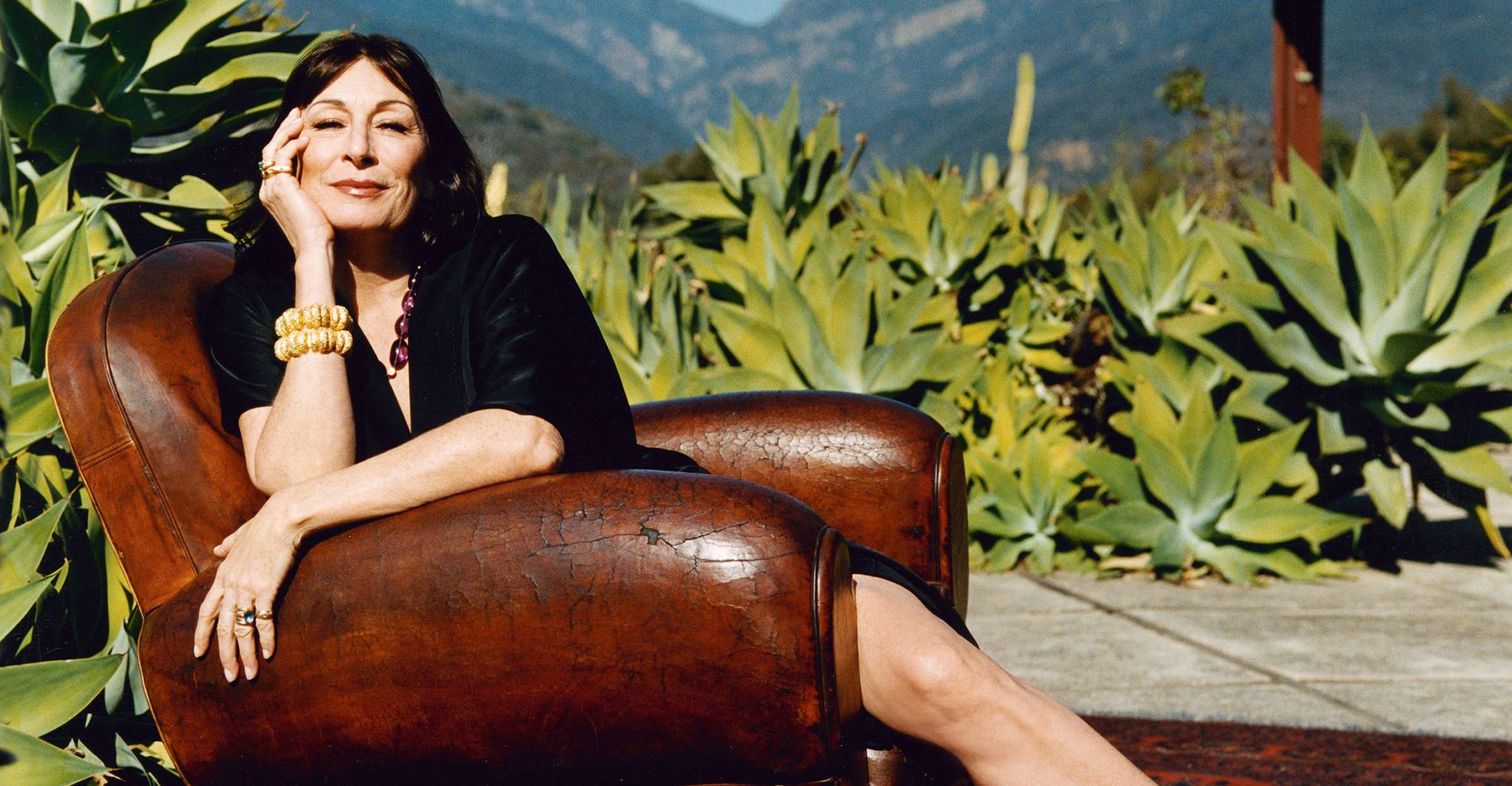 Anjelica Huston on her favourite places to stay
