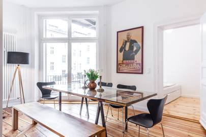 A pared-back apartment in Berlin, Germany