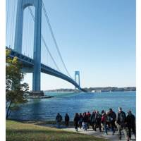 Walk the coast of Manhattan