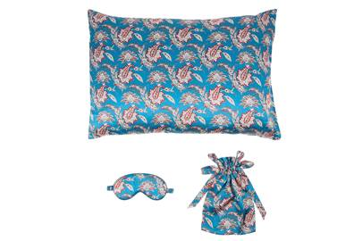 Liberty eyemask and pillow
