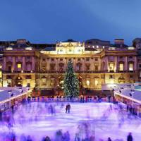 Skate at Somerset House, London