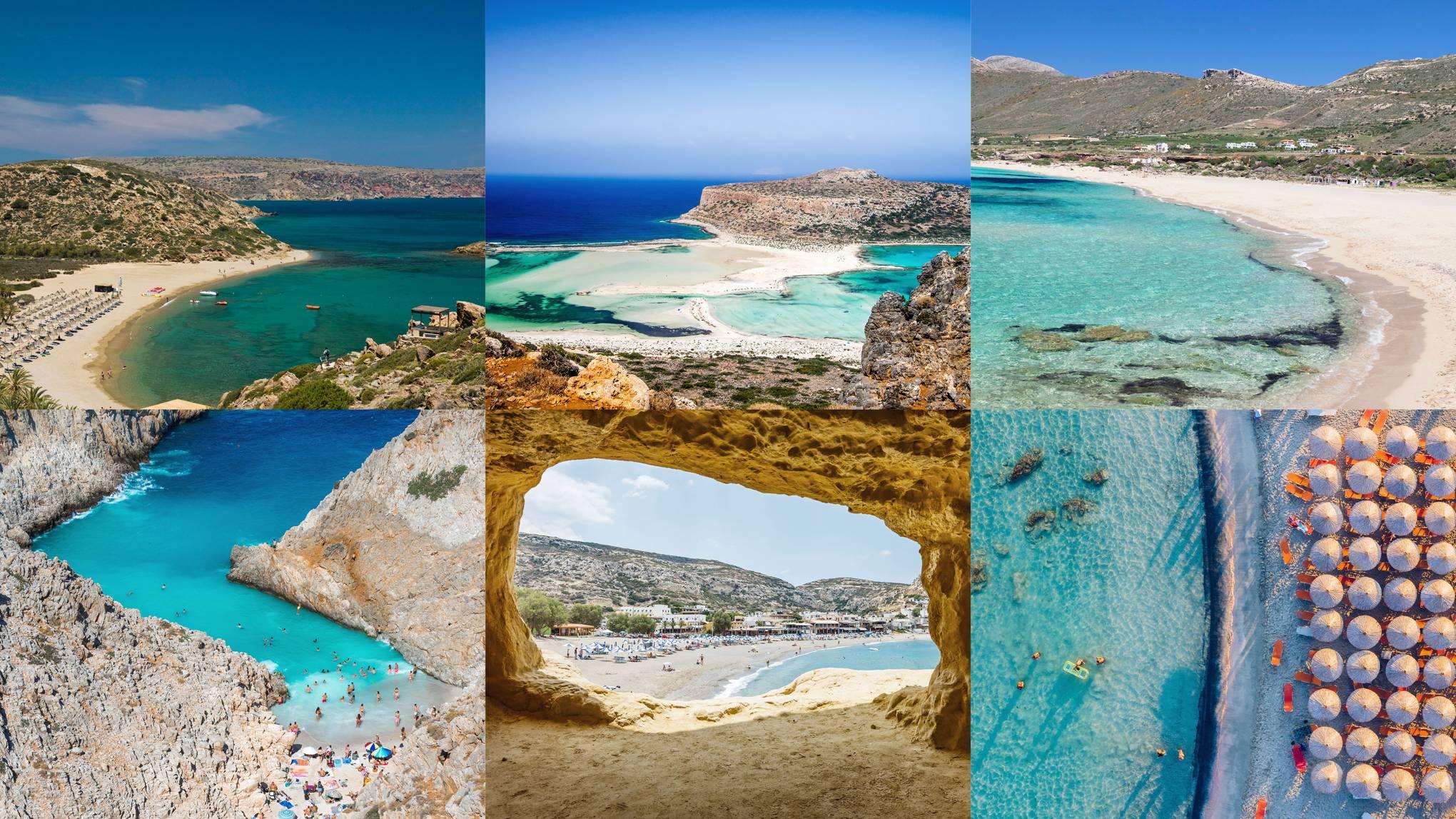 The 8 Best Beaches In Crete Cn Traveller