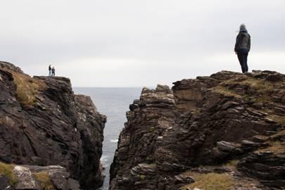 Hell's Hole Cliffs, Malin Head