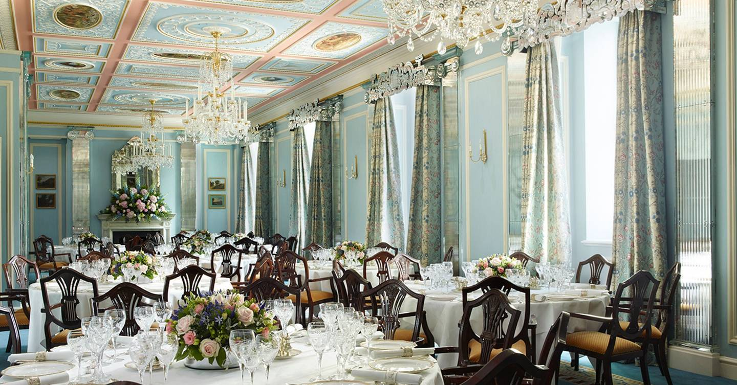 The lanesborough hotel review cn traveller for Best restaurants private dining rooms london