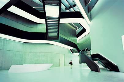 The Museum: MAXXI, designed by Zaha Hadid