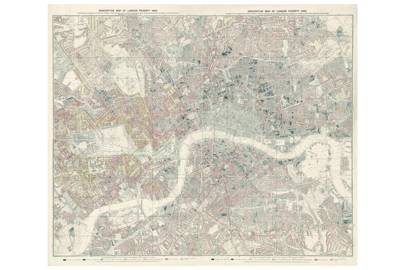 London in vintage maps