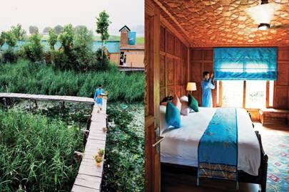 Sukoon houseboat, Dal Lake, Kashmir