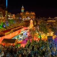 CHRISTMAS MARKET – EAST PRINCES STREET GARDENS, EDINBURGH
