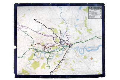 London in vintage maps