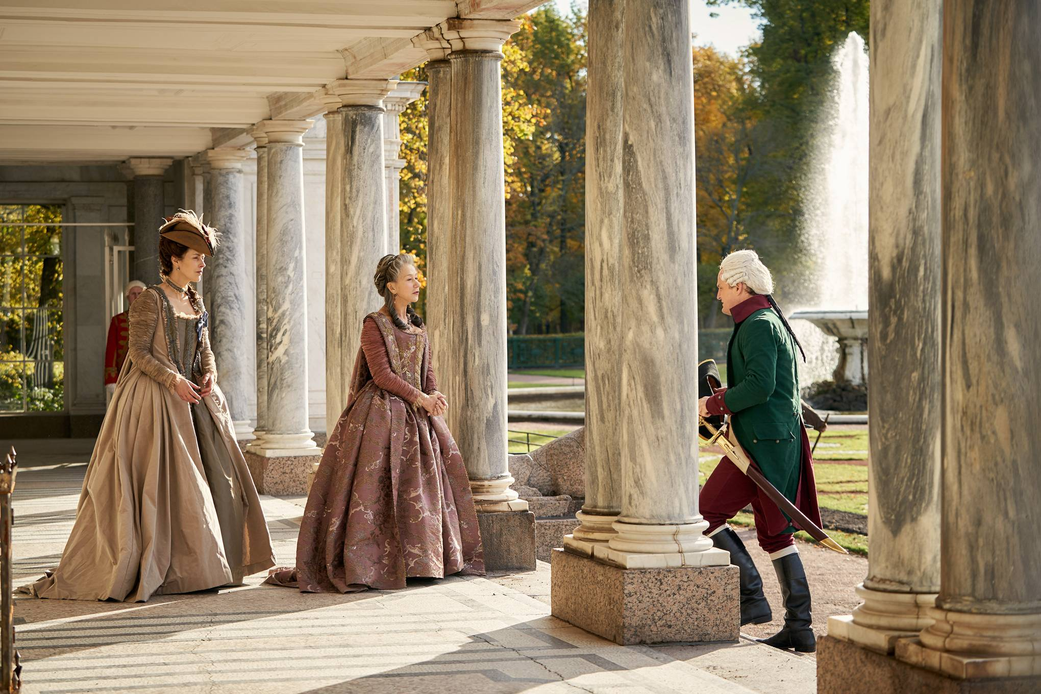 Where was Catherine the Great filmed?