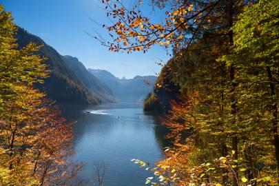 Autumn in the Bavarian Alps