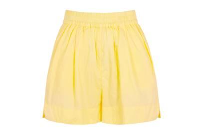 LMND Lemonade cotton shorts