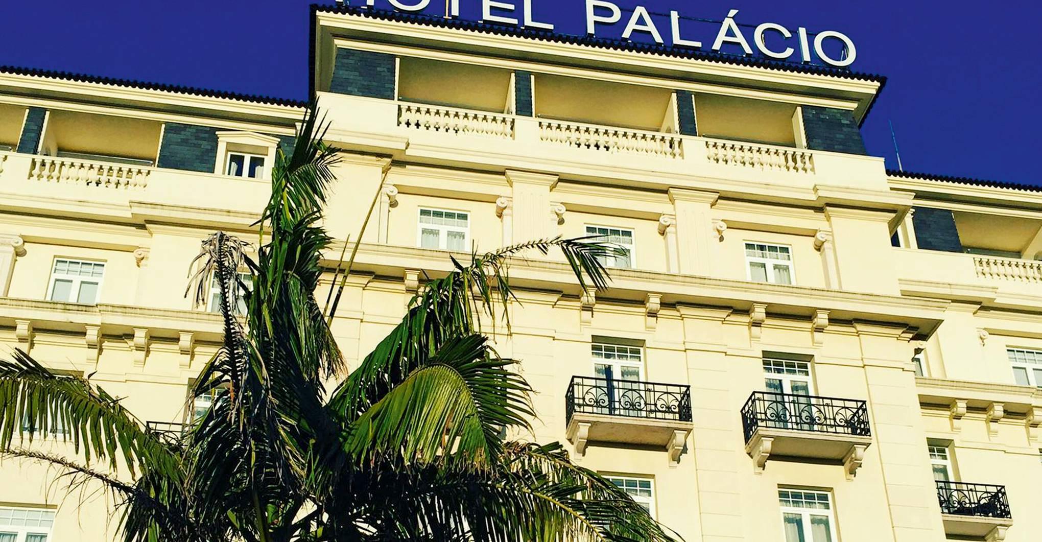 Hotel Palacio Estoril, Portugal: spa review