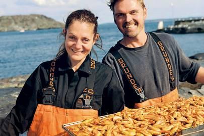 Pia Edlund and Leif Edlund Johansson