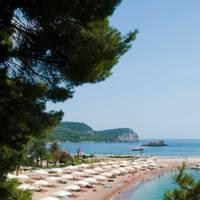 Sveti Stefan beach, Montenegro