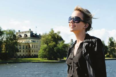 A boat trip to Drottningholm