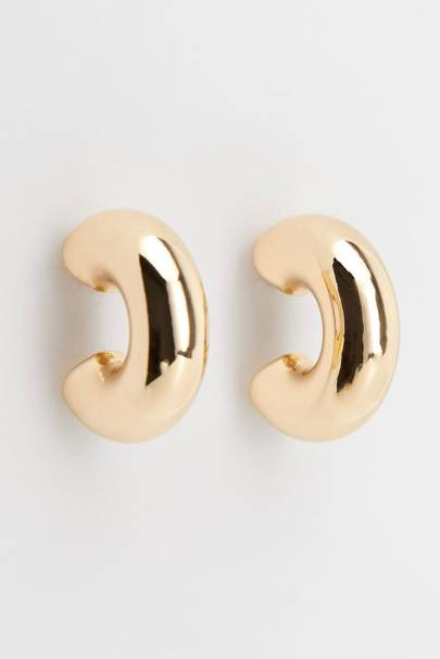 2. Gold hoops