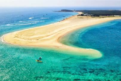20. Jibei Island beach, Taiwan