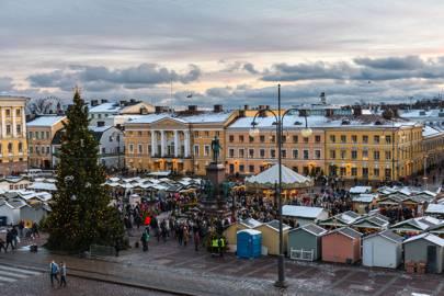 HELSINKI CHRISTMAS MARKET, FINLAND
