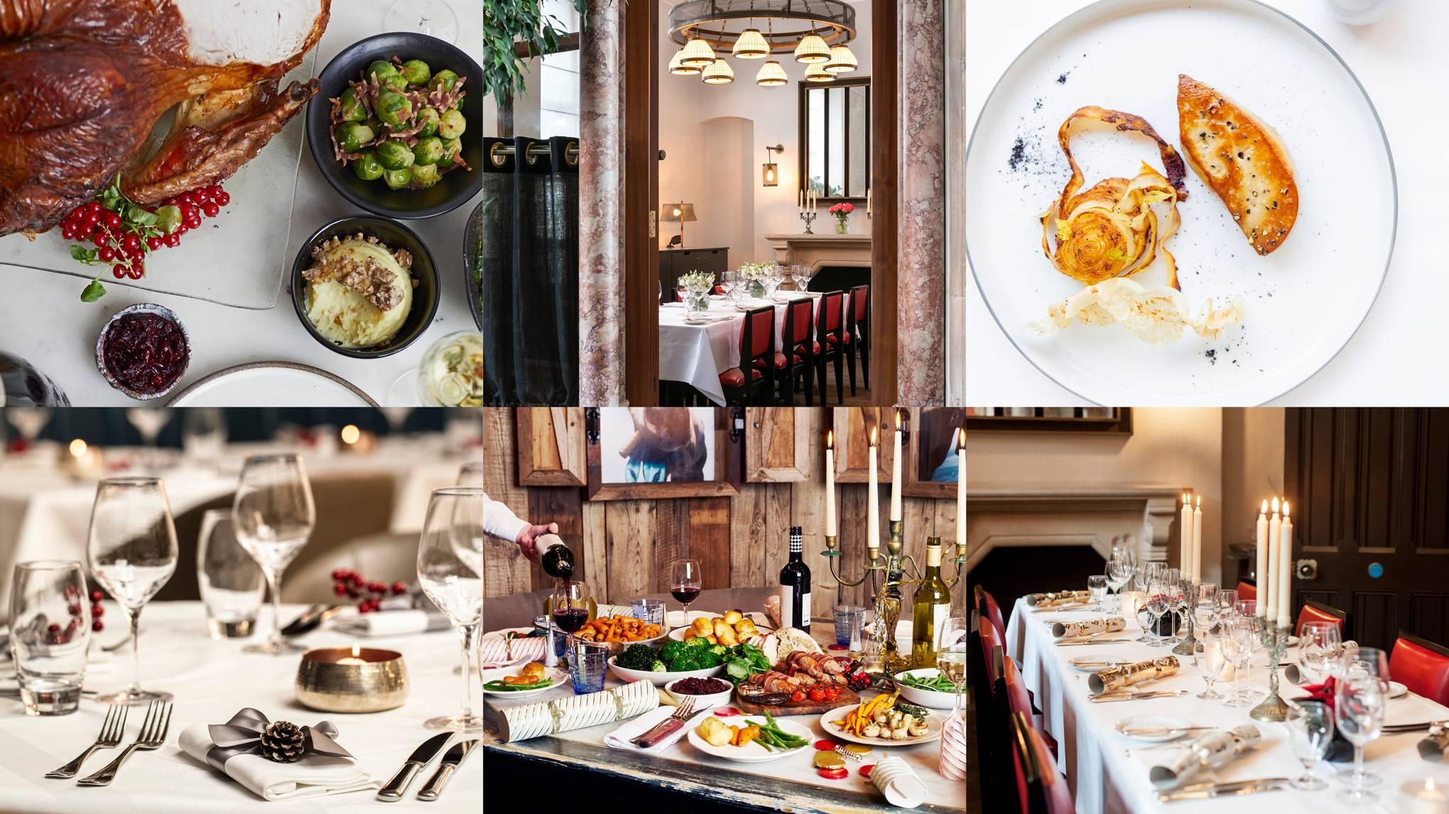 The loveliest London restaurants open on Christmas Day