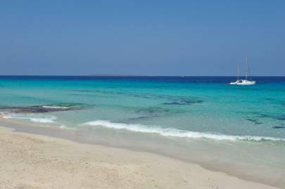 Platja de Ses Illets, Formentera