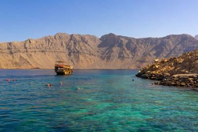 Telegraph Island, or Jazirat al Maqlab, Oman