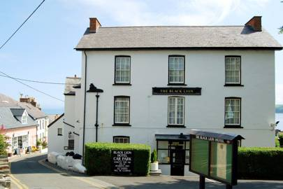 The Black Lion Hotel, New Quay, West Wales