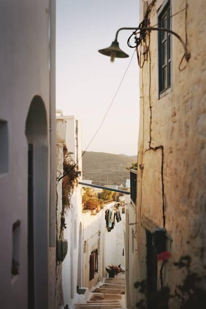 Chora town, Amorgos