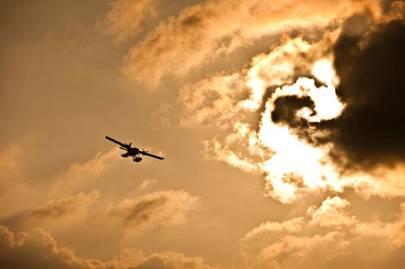 The sea plane to Landaa Giraavaru