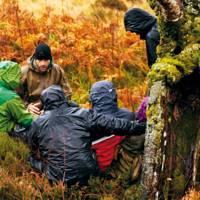 Teamwork at the Bear Grylls Survival Academy