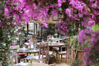 9. Have lunch in a glasshouse