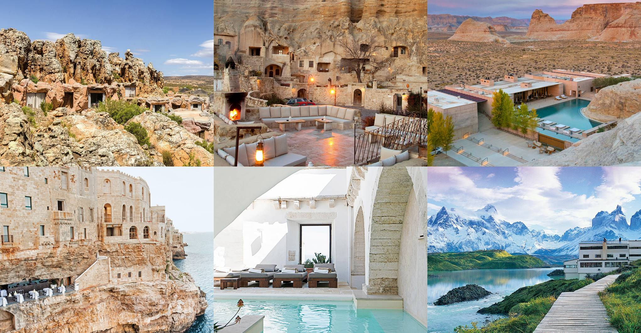 15 caves you can actually stay in