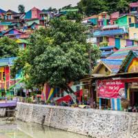 4. Kampung Pelangi, Indonesia