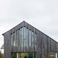 Modern renovated barn