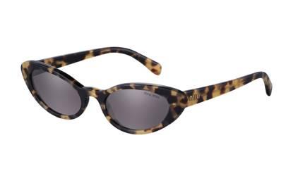 5. Miu Miu tortoiseshell sunglasses