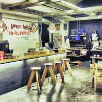 Printa design shop and café, Budapest