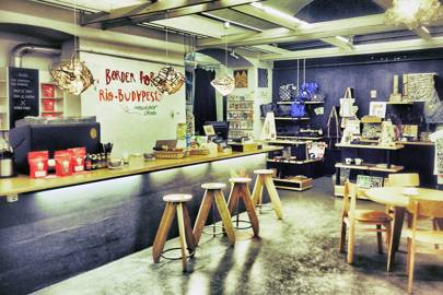 Printa design shop and café, Budapest