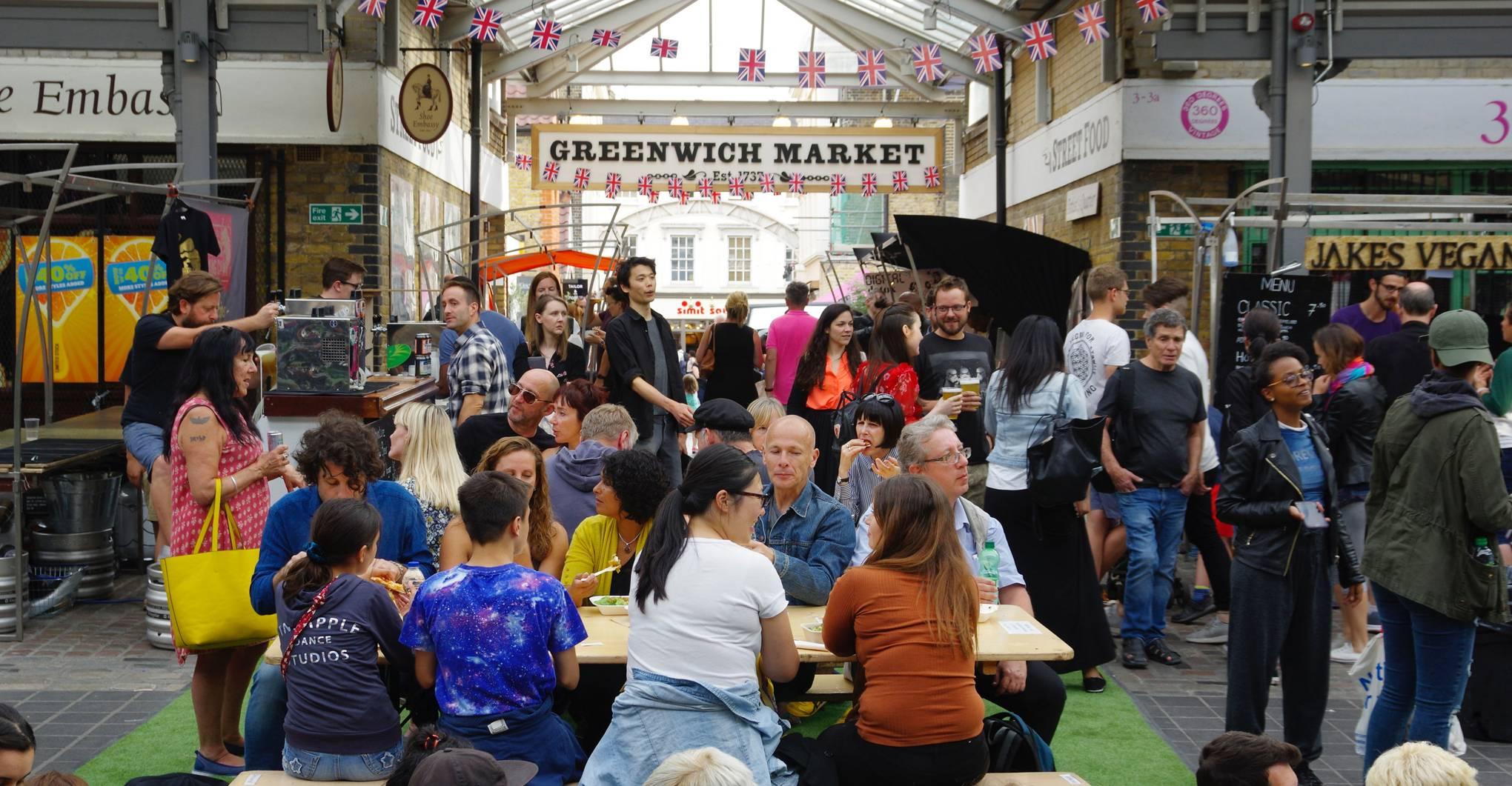 London's best street-food markets