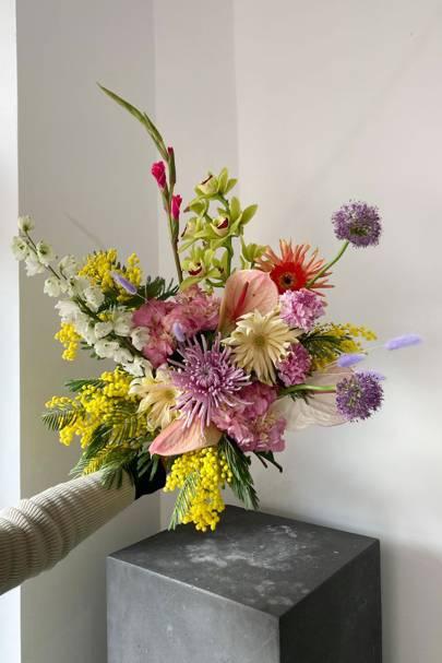 Bring blooms indoors